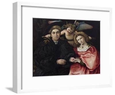 Portrait of Marsilio Cassotti and His Bride Faustina