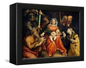 Sacra Conversazione by Lorenzo Lotto