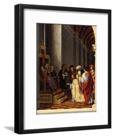 Saint Joseph before the High Priest