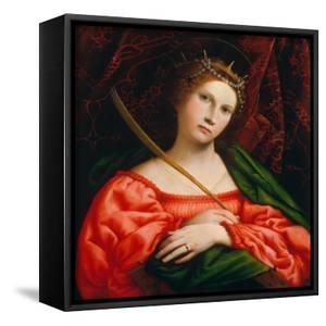 St. Catherine, 1522 by Lorenzo Lotto