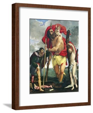 St Christopher Between Saints Rocco and Sebastian, 1532-1535