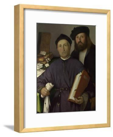 The Physician Giovanni Agostino Della Torre and His Son, Niccolò, Ca 1515