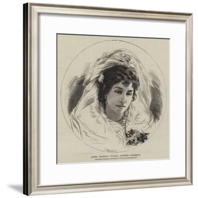 Loreta Domenica Vittoria, Countess Lambertini--Framed Giclee Print