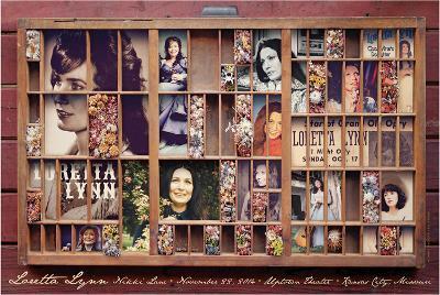 Loretta Lynn-Kii Arens-Art Print