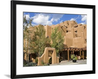 Loretto Inn in Santa Fe, New Mexico, United States of America, North America-Richard Cummins-Framed Photographic Print