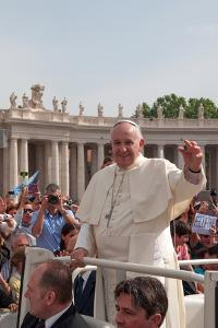 Pope Francis Attends His Weekly Audience in Saint Peter's Square by Lori Epstein