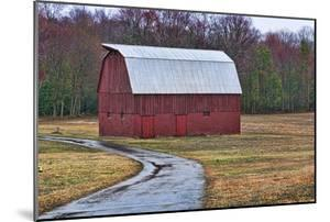 Red Barn by Lori Hutchison