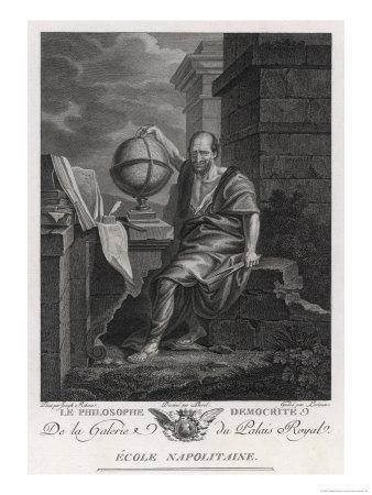 Democritus Greek Philosopher and Scientist