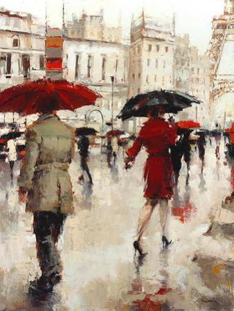 Parting on a Paris Street by Lorraine Christie