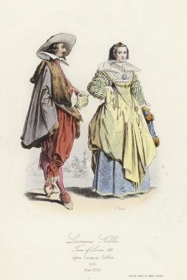Lorraine Nobles of the Time of Louis XIII of France--Giclee Print