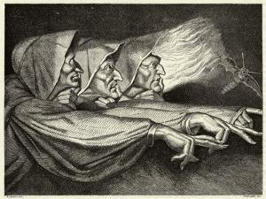 Macbeth, The Witches by Lorsay