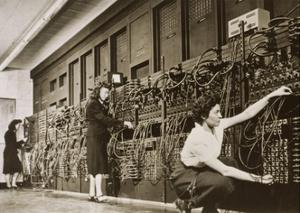 ENIAC, the Second Electronic Calculator by Los Alamos National Laboratory