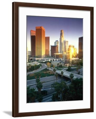 Los Angeles, CA-Mitch Diamond-Framed Photographic Print