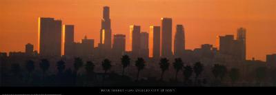 Los Angeles City at Dawn-Ren? Sheret-Art Print