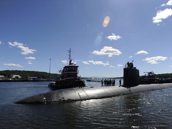 Los Angeles-class Submarine USS Annapolis Photographic Print by Stocktrek  Images | Art com