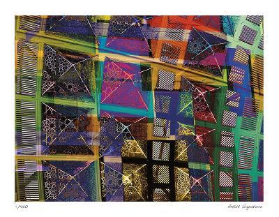 Los Angeles Geometry I-Stephen Donwerth-Giclee Print