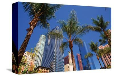 Los Angeles II--Stretched Canvas Print