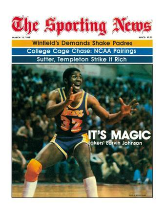 Los Angeles Lakers' Magic Johnson - March 15, 1980