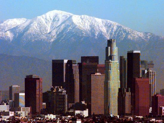 Los Angeles Mount Baldy-Nick Ut-Photographic Print