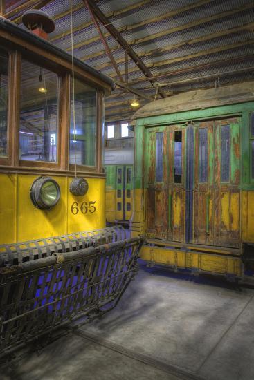 Los Angeles Railway Trolley #665-Robert Hansen-Premium Photographic Print