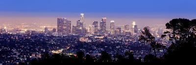 Los Angeles Skyline Panoramic-rebelml-Photographic Print