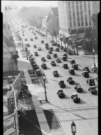 Los Angeles Street Scene-Dick Whittington Studio-Photographic Print