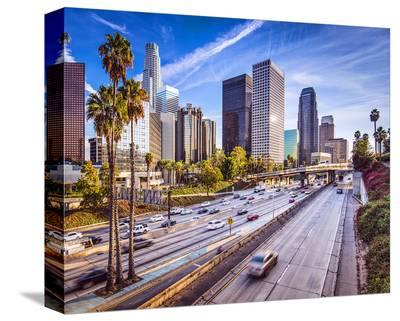 Los Angeles--Stretched Canvas Print