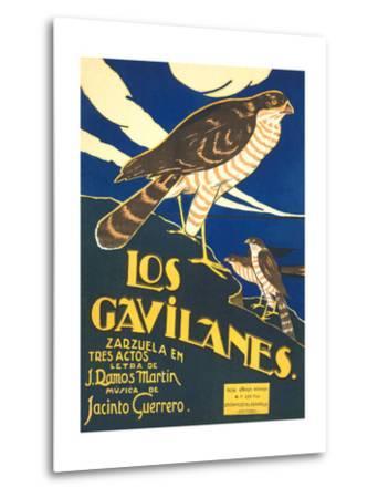 Los Gavilanes Zarzuela Poster