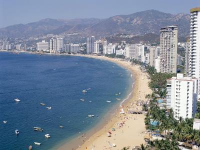 Los Hornos, Acapulco, Pacific Coast, Mexico, North America-Adina Tovy-Photographic Print