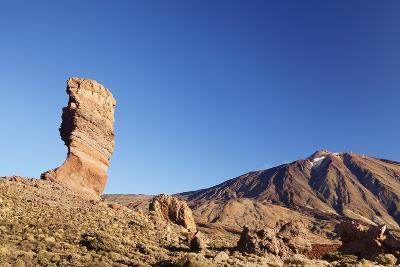 Los Roques De Garcia at Caldera De Las Canadas, National Park Teide, Canary Islands-Markus Lange-Photographic Print