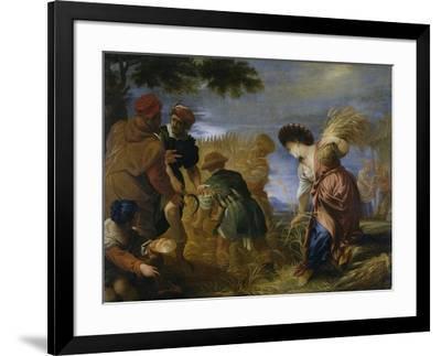 Los segadores de la tierra de promisión, 1668-Juan Antonio De Frias Y Escalante-Framed Giclee Print