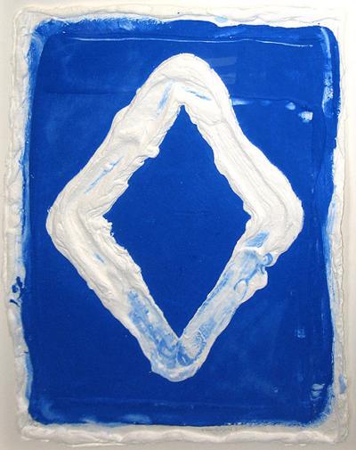 Losange bleu-Bram Bogart-Limited Edition