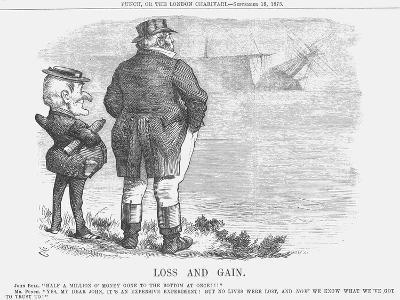 Loss and Gain, 1875-Joseph Swain-Giclee Print