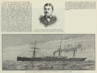 Loss of an Emigrant Steam-Ship--Giclee Print