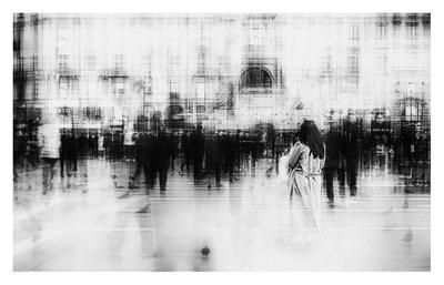 Lost Among Ghosts-Inna Blar-Giclee Print