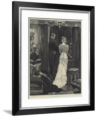 Lost and Won-Richard Caton Woodville II-Framed Giclee Print