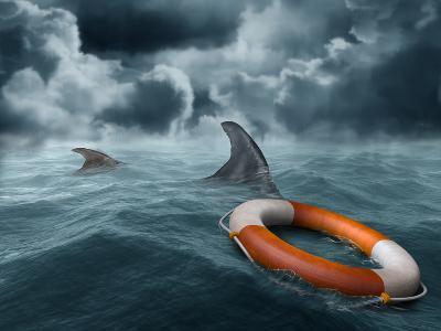 Lost At Sea-paul fleet-Photographic Print
