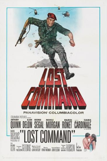 LOST COMMAND, US poster, Anthony Quinn, 1966--Art Print