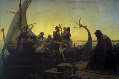 Lost Illusions, or Evening, 1843-Marc Charles Gabriel Gleyre-Giclee Print