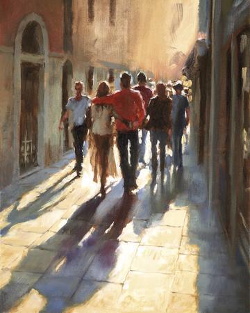 Lost in Love, in Venice--Giclee Print