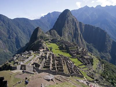 Lost Inca City of Machu Picchu, Intipunku, Peru-Diane Johnson-Photographic Print