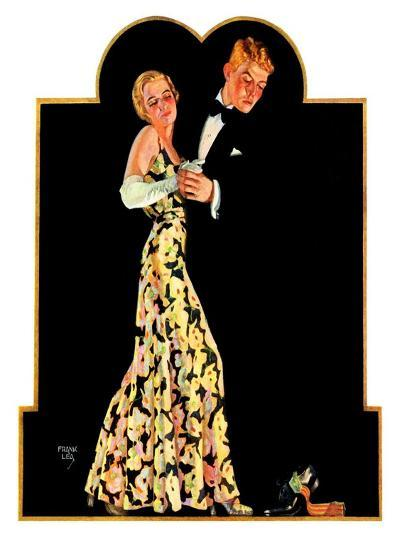 """Lost Suspender,""April 23, 1932-Frank Lea-Giclee Print"