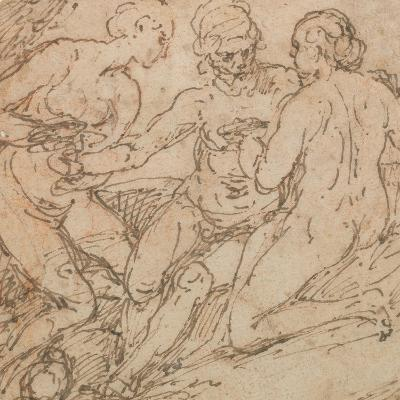 Lot and His Daughters-Alessandro Turchi-Giclee Print