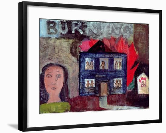 Lot's Wife Looks Back (Burning), 1991-Albert Herbert-Framed Giclee Print