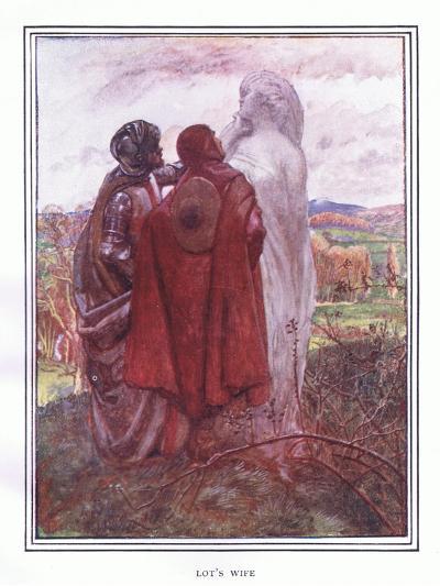 Lot's Wife-John Byam Liston Shaw-Giclee Print