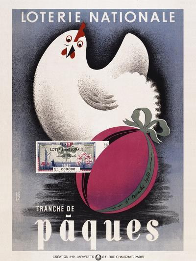 Loterie Nationale - Paques-Marcus Jules-Giclee Print