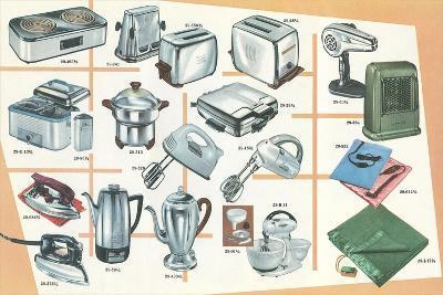 Lots of Small Appliances--Art Print