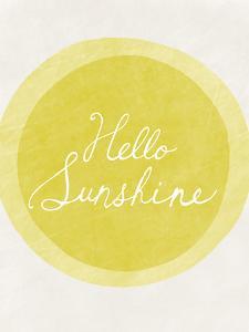 Hello Sunshine by Lottie Fontaine