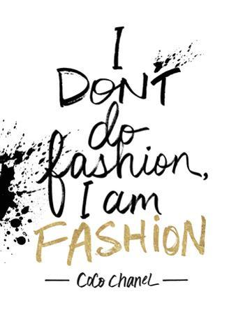 I am Fashion!