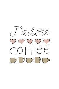 J'adore Coffee by Lottie Fontaine